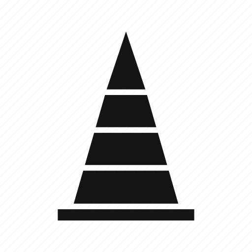 cone, road, traffic, under construction icon
