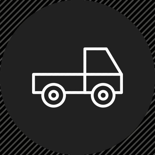 delivery, loader, van icon