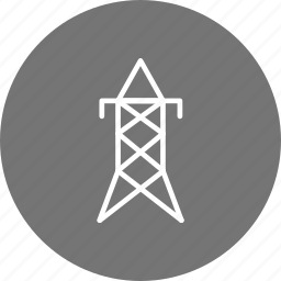 electric tower, electricity, energy, tower, volt, ×power icon