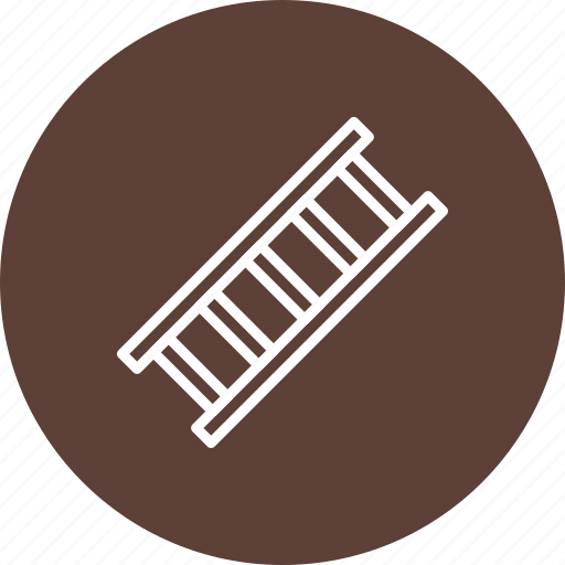 construction, ladder, stairs, step icon