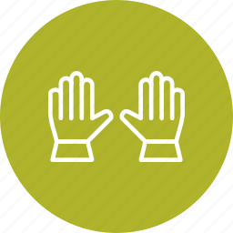 construction, gloves, winter, work, working icon