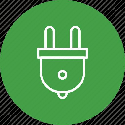 electric, electricity, plug, plugin icon
