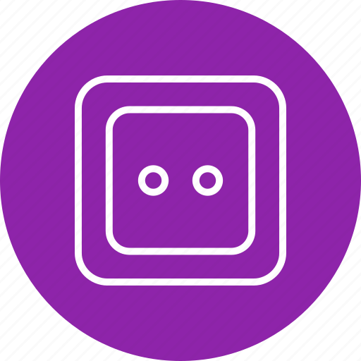electric, power, socket icon
