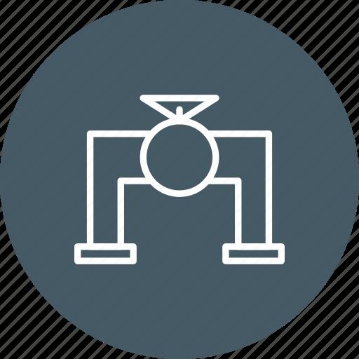 pipe, plumbing, valve icon