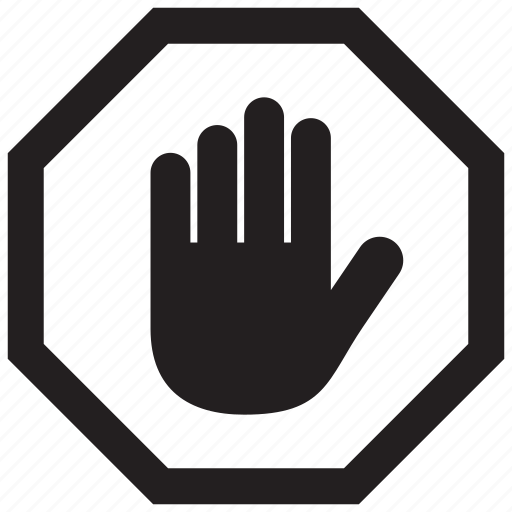 Gesture Hand Sign Stop Warning Icon Icon Search Engine