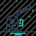 cone, progress, safety, taper, traffic cone, worke, worke in progress icon