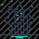 development, evolution, growth, technology icon