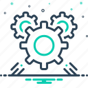 cogwheel, development, gear, mechanism