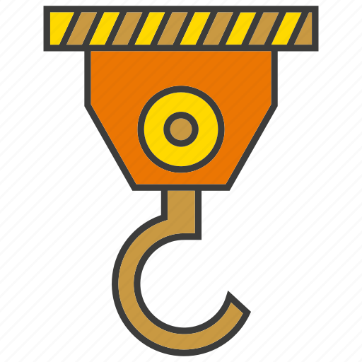 Crane, hang, hook, industry, lift, machine, mechanical icon - Download on Iconfinder
