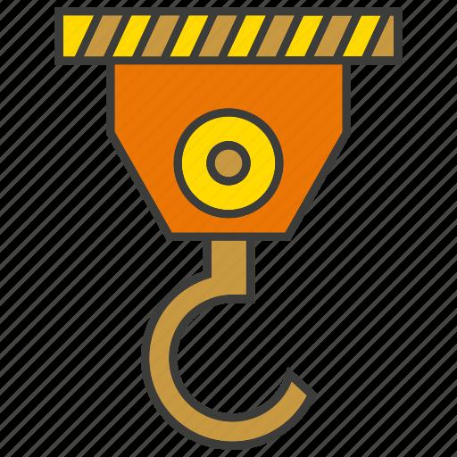 crane, hang, hook, industry, lift, machine, mechanical icon