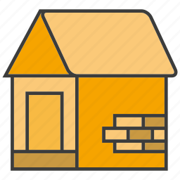 architecture, building, home, house, under construction icon