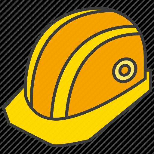engineer, helmet, labor, safety icon