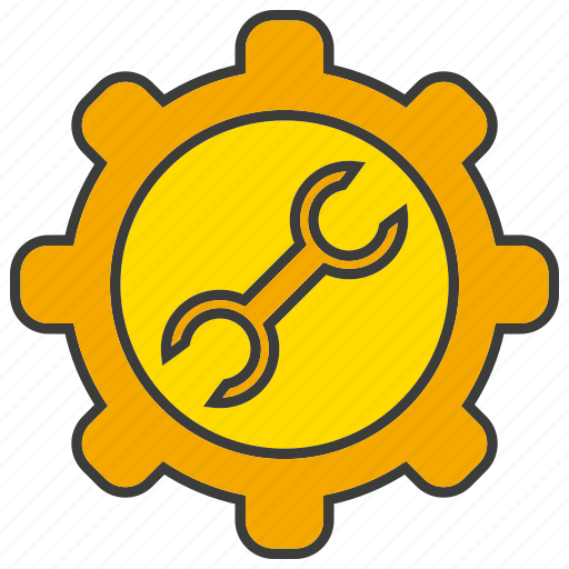 cog, fix, gear, repair, setting, wrench icon