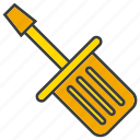 fix, repair, screwdriver, tool icon