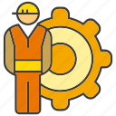 cog, engineer, gear, mechanic, technician icon