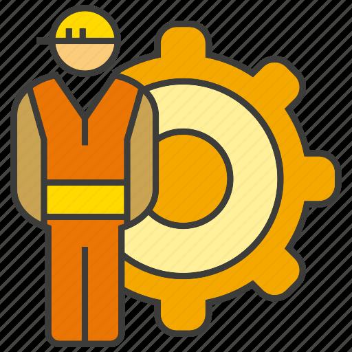 cog, engineer, gear, mechanic, technician icon