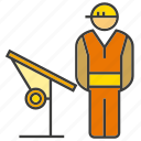 design, engineer, mechanic, technician icon