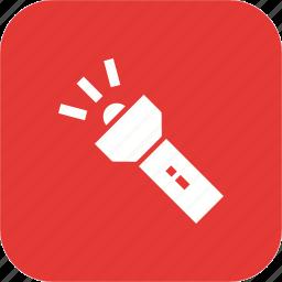 bulb, flash, light, tool, torch, work icon