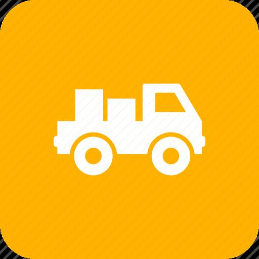 delivery, loader, logistic, van icon