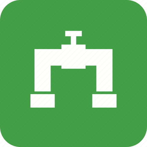 pipe, supply, tap, valve, water icon