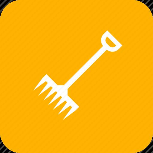 agriculture, farm, farming, rake icon