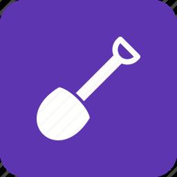gardening, shovel, tool, trowel icon