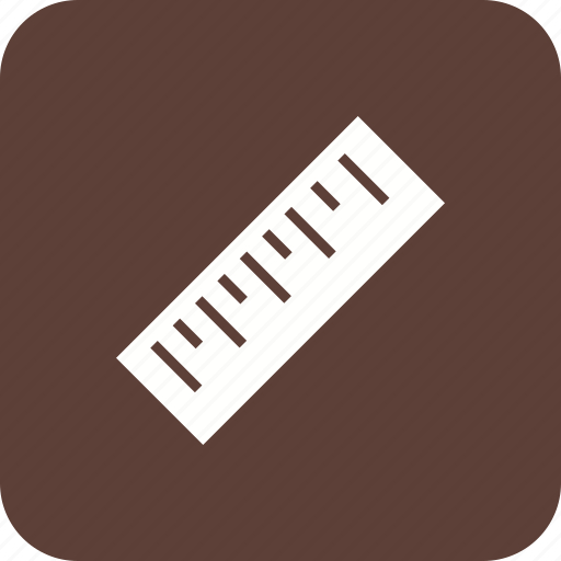 construction, geometry, measure, measurement, ruler, tools icon