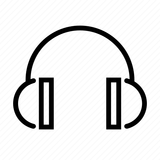 construction, ear, headphones, listen, protection, safety icon
