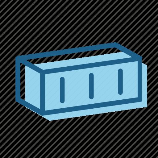 block, brick, building, cavity, clay, construction, foundation icon