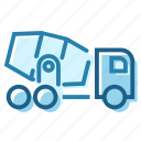 cement, construction, lorry, mixer, mobile, transport, truck icon
