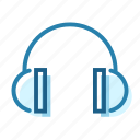 construction, ear, headphones, protection, safety, sound, wear icon