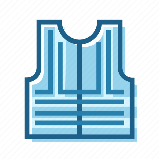 clothing, construction, high, protection, safety, vest, visibility icon