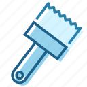 brush, color, colour, construction, paint, painter, tip icon