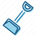 construction, dig, digger, handle, shovel, tool icon