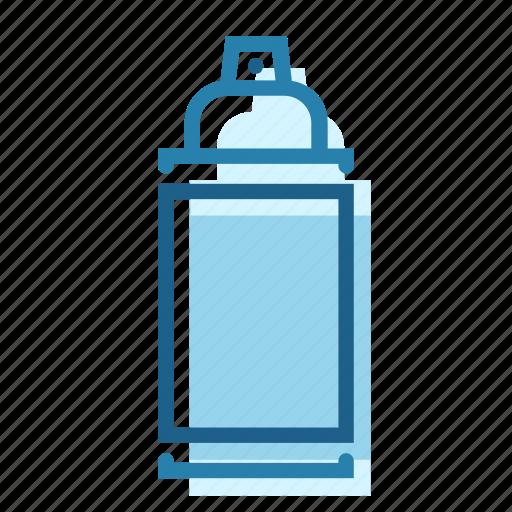 aerosol, apply, can, color, construction, painter, spray icon