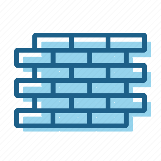 brick, bricks, construction, wall icon