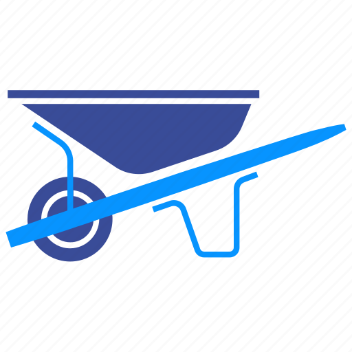 barrow, carry, farm, gardening, wheel, wheelbarrow icon