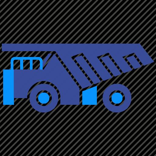 dump, dumper, industry, machine, truck, vehicle, wheel icon