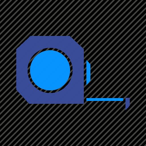 centimeter, measure, measurement, meter, tape, tool icon