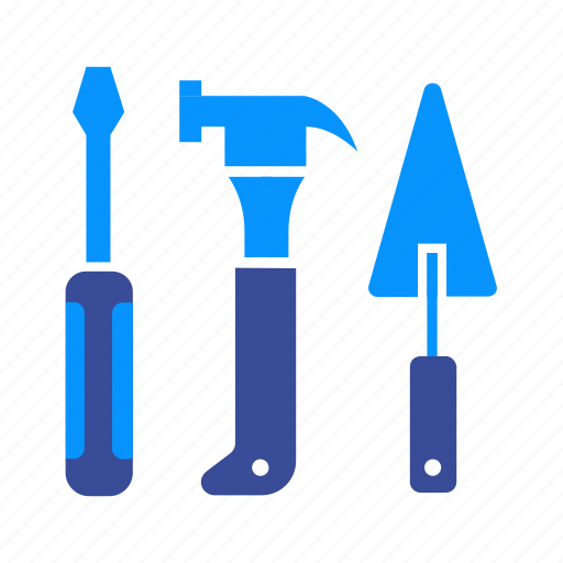hammer, hand, handyman, repair, tool, toolbox, toolkit icon