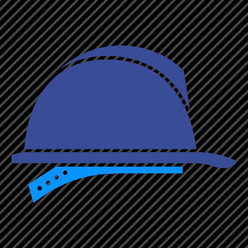 builder, cap, hat, head, helmet, safety, work icon