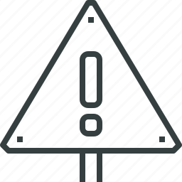 alert, sign icon