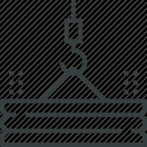 building, crane icon