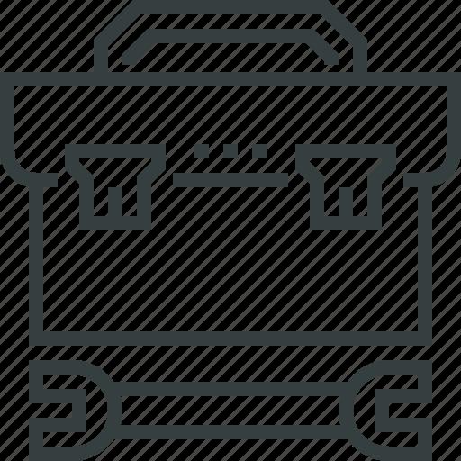 kit, repair, toolbox icon