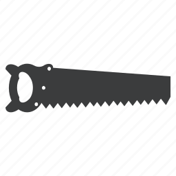 blade, carpentry, cut, plumbing, saw, sharp, tool icon