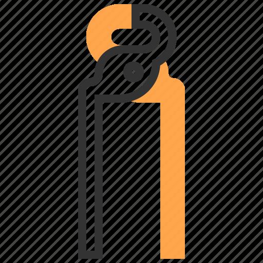 construction, equipment, plier, repair, tool icon