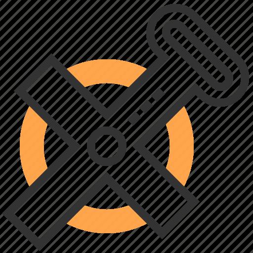 construction, equipment, measurement, repair, tool icon