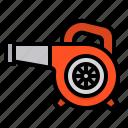 blower, construction, tool, home, repair, improvement