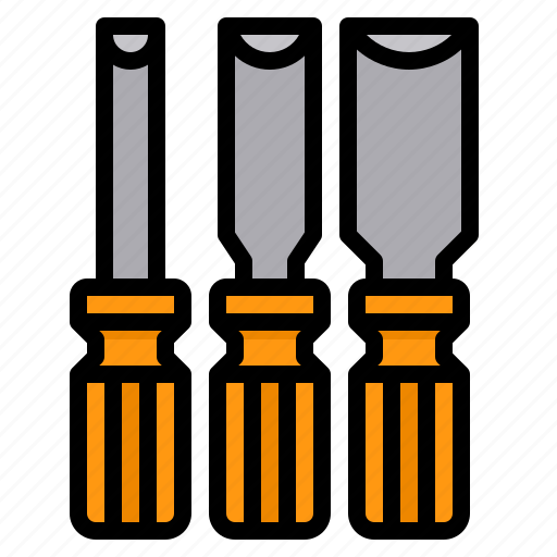 Chisel, construction, tool, carpenter, wood icon - Download on Iconfinder