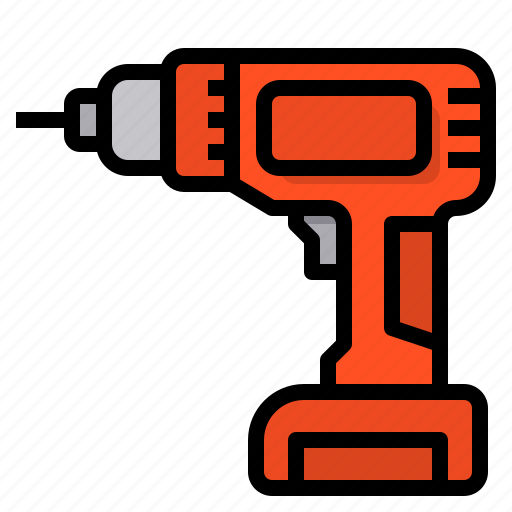 Drill, drilling, machine, tools, construction, technology icon - Download on Iconfinder